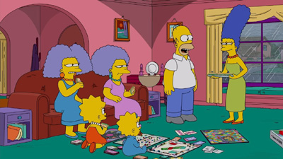 The Simpsons 30x17 : E My Sports- Seriesaddict
